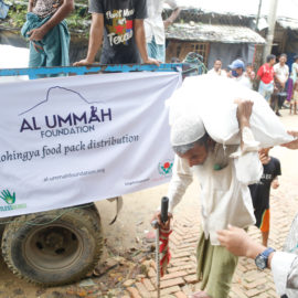 Feed the Rohingya food pack distribution 2020