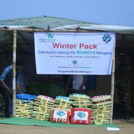 Rohingya winter pack