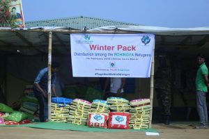 Rohingya winter pack